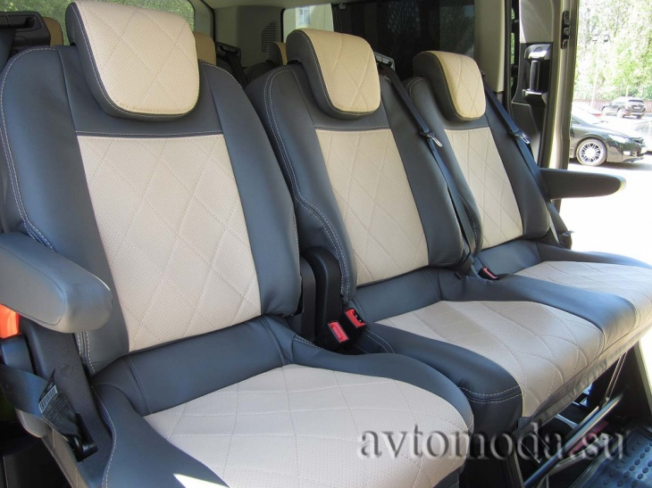 Фото чехлов на Ford Tourneo Custom