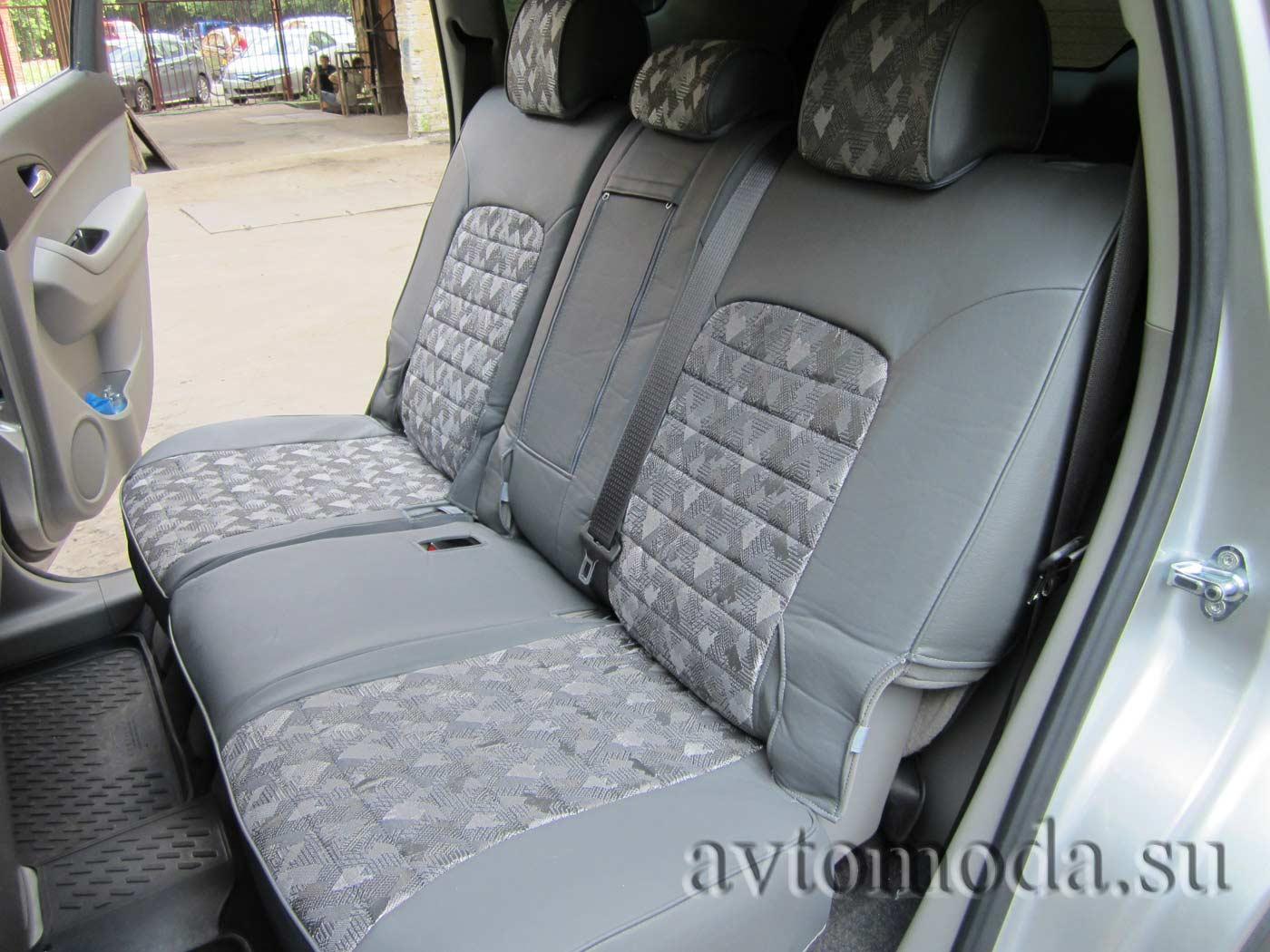 Авточехлы для Chevrolet Niva (Шевроле Нива) из экокожи